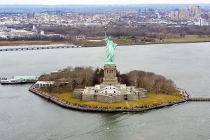 Vista de la la Estatua de la Libertad