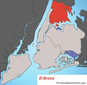 Mapa de El Bronx