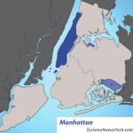 Ubicación de Manhattan