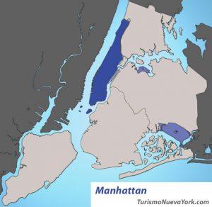 Manhattan ubicación
