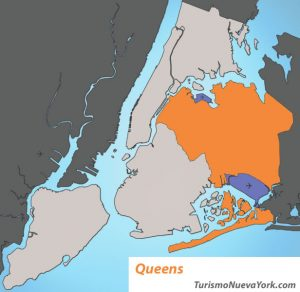 Mapa de Queens