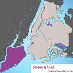 Mapa de Staten Island