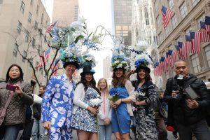 Desfile de Semana Santa en la Quinta Avenida.