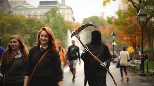 Halloween en Nueva York.