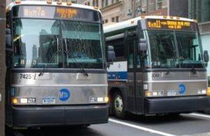 Autobuses en Nueva York