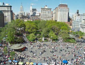 Clima de Mayo en Nueva York.