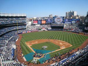 Temporada de béisbol en el Yankee Stadium