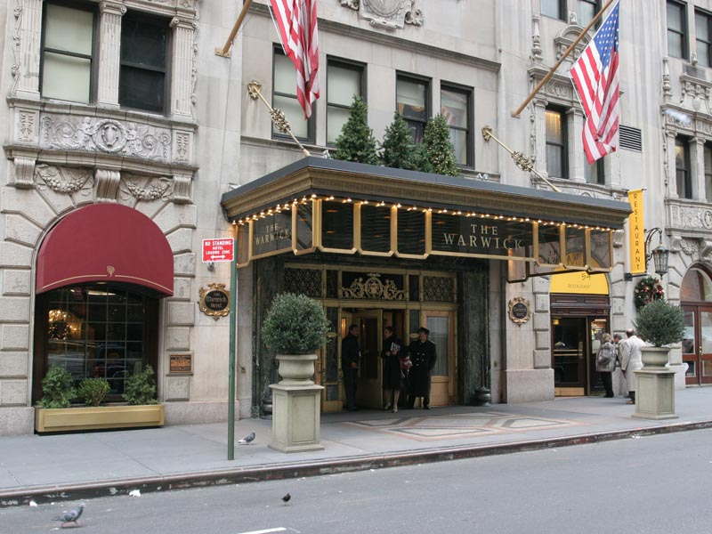 Warwick new york hotel turismo nueva york for Hotel centro new york