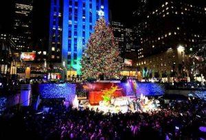 Árbol de Navidad en el Rockefeller Center