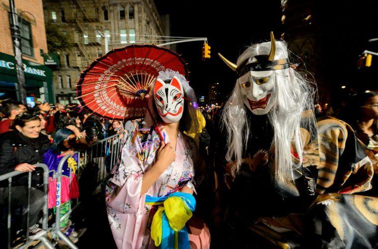 Resultado de imagen para Halloween con frio en Nueva York