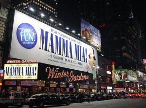 Teatro Broadway en diciembre