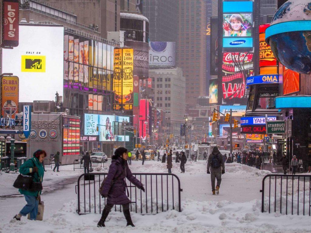 nueva york diciembre