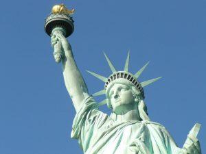 antorcha de la Estatua de la Libertad