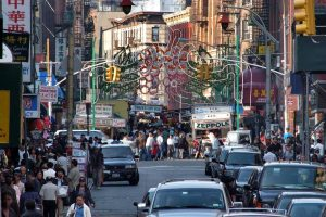 China Town en Manhattan, Nueva York