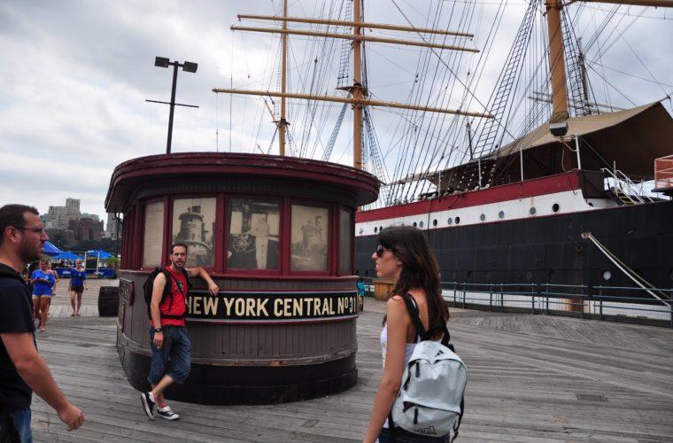 Llegar en barco a Nueva York