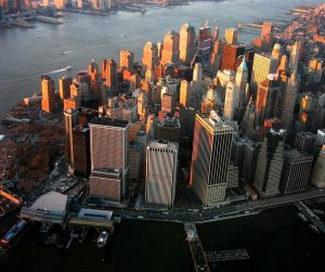 Vista aérea de la ciudad de ManhattanAutor