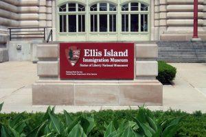 Entrada al Museo de la Inmigración de Ellis Island