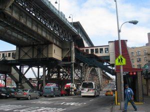 Línea elevada del metro de Nueva York (Manhattanville)
