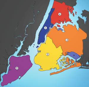 Distritos de Nueva York