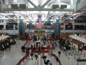 Interiores del Aeropuerto John F. Kennedy  (JFK)