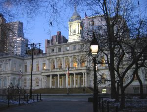 Nyc city hall jan