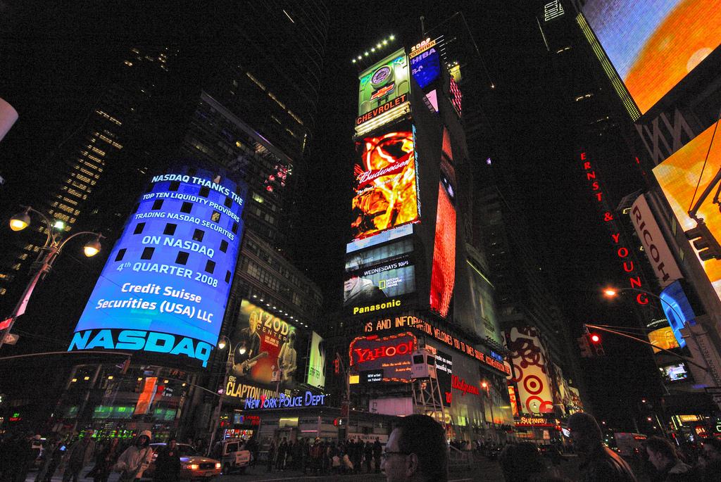 Nueva York, la ciudad que nunca duerme.