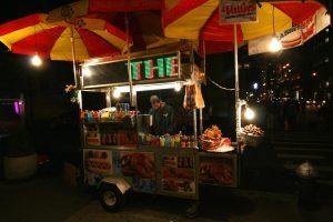 Comida rápida y barata en Nueva York.