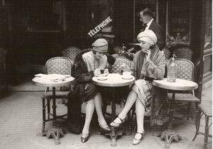 El estilo flapper fue muy popular en las primeras décadas del siglo XX.