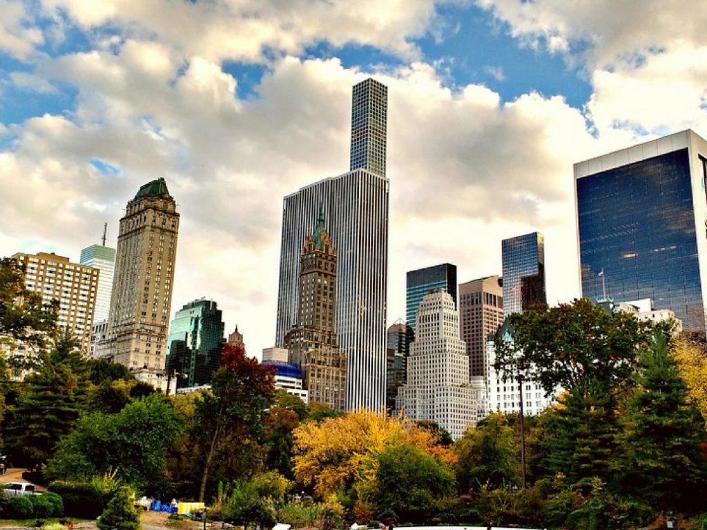 Central Park de día.