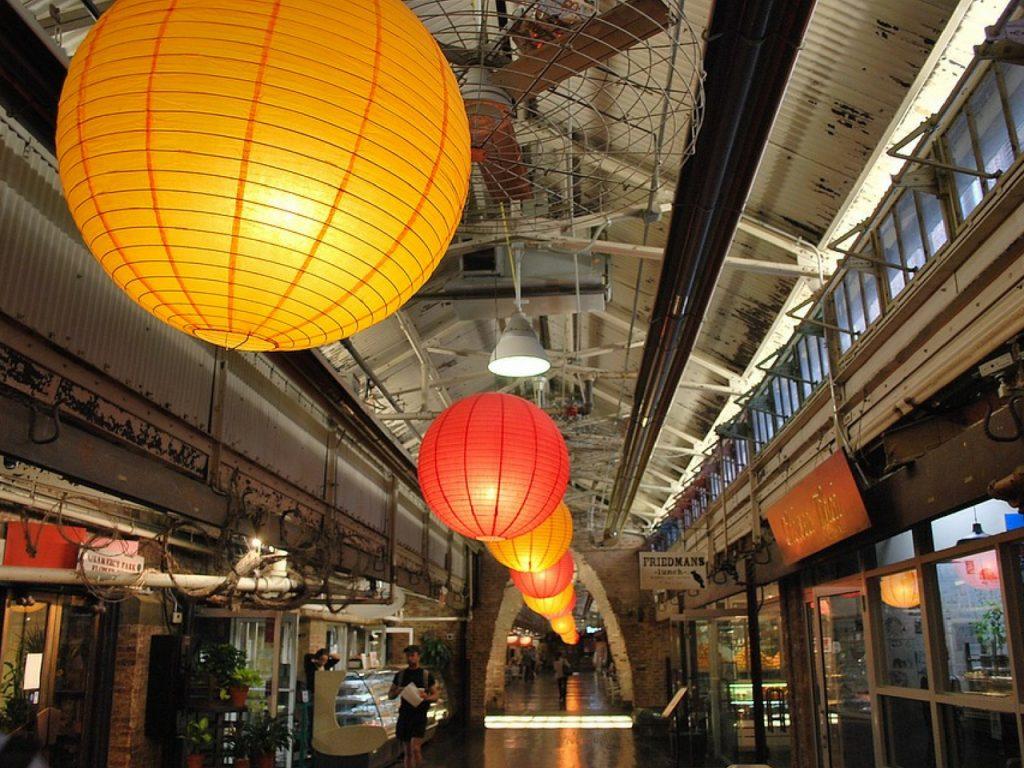 Interior del Mercado Chelsea