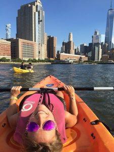 Kayak por el Hudson